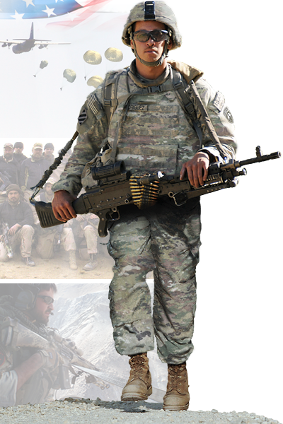 Image of Special Operations Detachment-Korea (Airborne) soldier