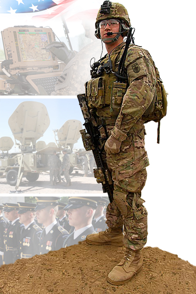 Image of 540th Network Support Co soldier