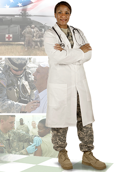 Image of 928th Area Support Medical Co (ASMC) soldier
