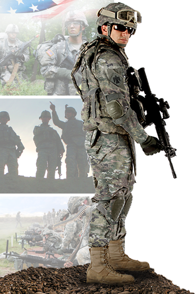 Image of 1-157th Infantry Regiment (Mountain) soldier