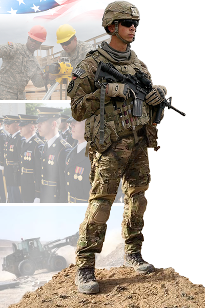 Image of 947th Engineer Company soldier