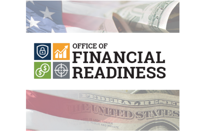 Financial readiness emblem