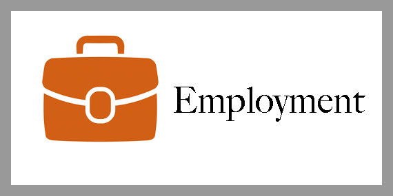 Clickable employment emblem