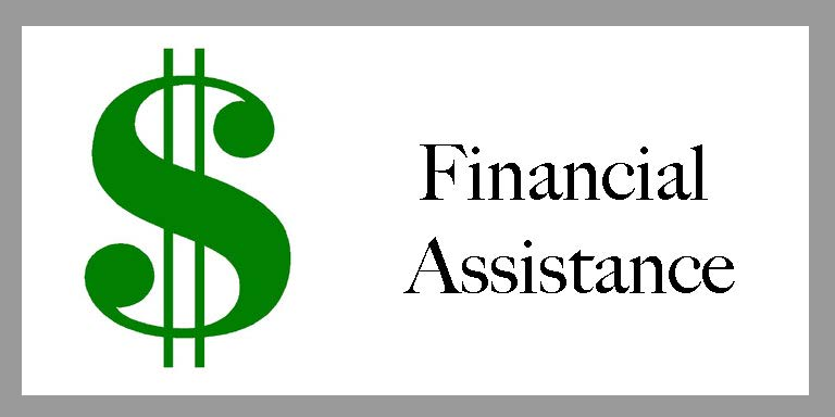 Clickable Financial Assistance Emblem