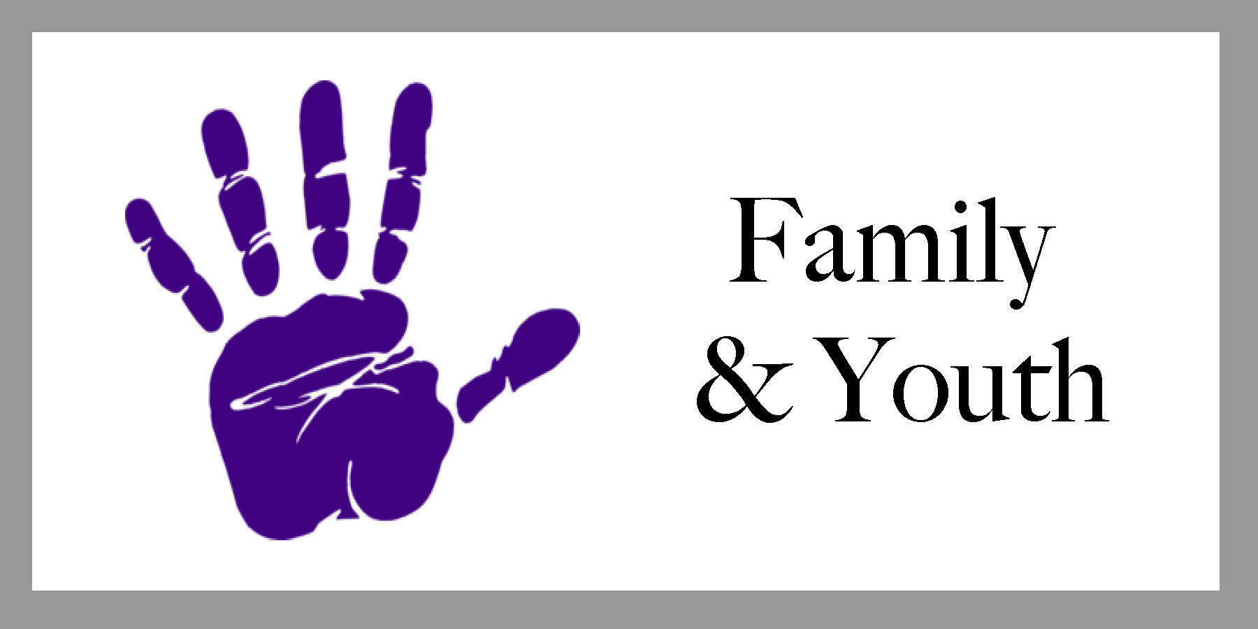 Clickable Family & Youth Support Emblem