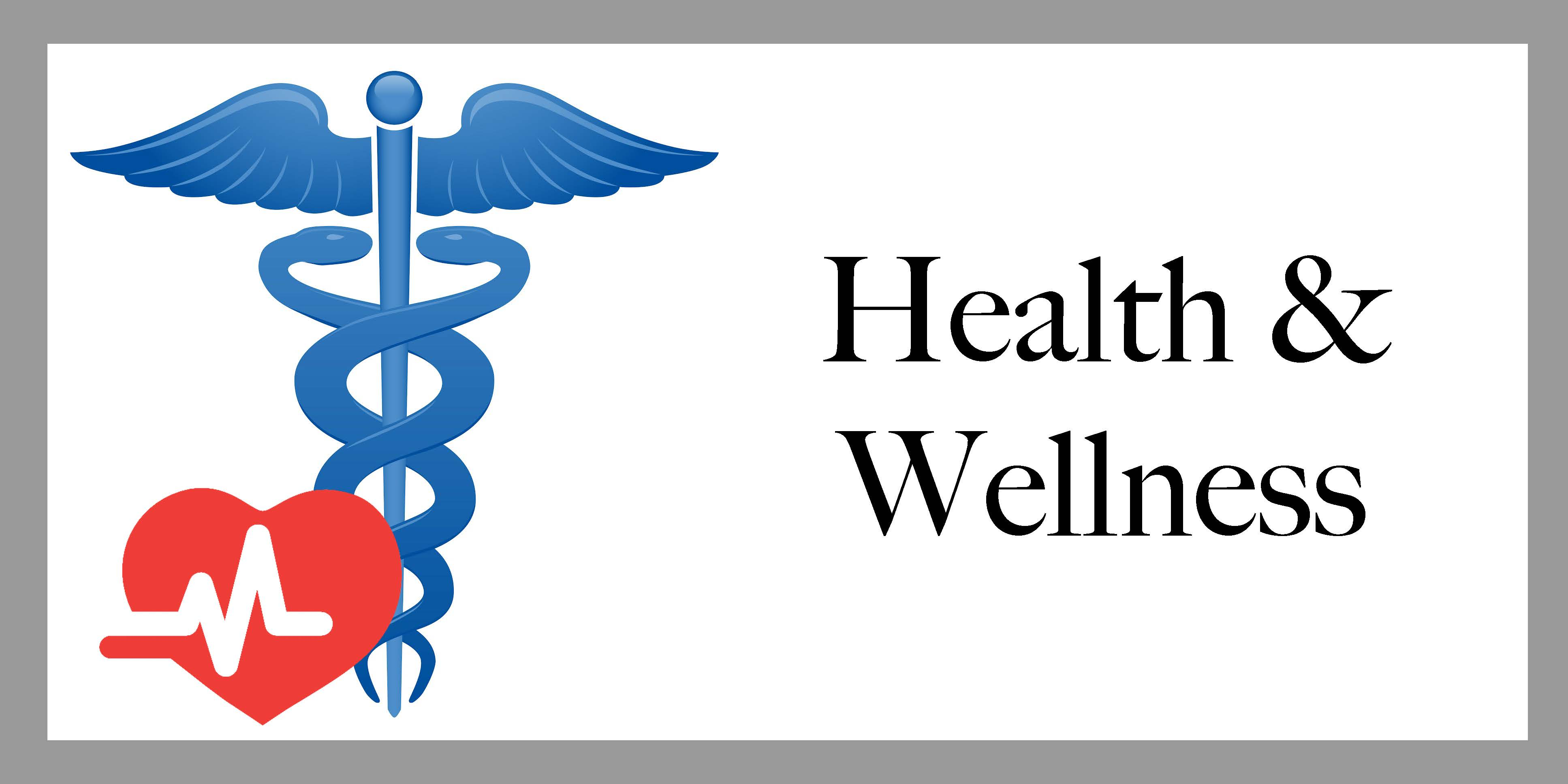 Clickable health and wellness emblem