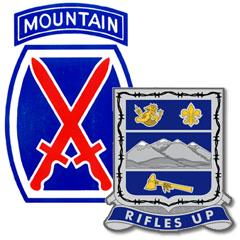 Images of 1-157th Infantry Regiment (Mountain) logo