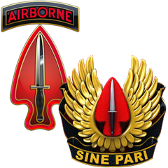 Image of Special Operations Detachment-Korea (Airborne) logo