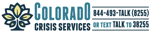 Click to go to Colorado Crisis Services
