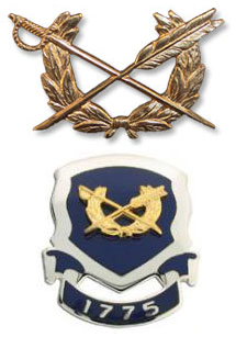 Judge Advocate General (JAG) insignia
