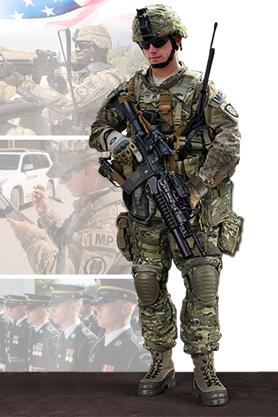 Image of 220th Military Police Company soldier
