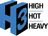 Image of H3 which stands for High Hot Heavy
