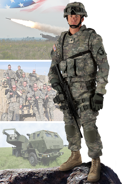 Image of 169th Field Artillery Brigade soldier